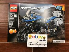 NEW LEGO Technic BMW R 1200 GS Adventure 42063 Advanced Building Toy