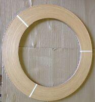 White Oak Unglued Wood Veneer Edging 2mm Thick x 100m Edgebanding