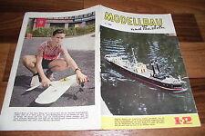 MODELLBAU und BASTELN # 12/1961 -- Zeitschrift für DDR Heimwerker / Geburtstag ?
