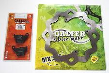 Galfer Rear Honda Wave Brake Rotor Disc Pads CR 250 CR250 02 03 04 05 06 07 NEW