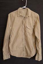 NEW Save Khaki Men's Poplin Work Shirt Small S - Light Khaki S.K.U.