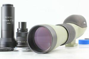 【 N MINT- 】 Nikon Field Scope II D = 60 P 20-45x + 800mm Attachment from JAPAN