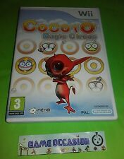 COCOTO MAGIC CIRCUS NINTENDO WII  PAL COMPLET