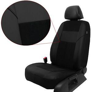 Sitzbezüge Autoschonbezüge Schwarz geeignet für Ford Ranger III Hilux Yeti Jeep