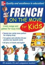 French On The Move For Kids (1CD + Guide) (On the Move S) Bruzzone, Catherine Ve