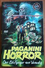 PAGANINI HORROR Luigi Cozzi - 2 DVD HARTBOX (Export Version + Italian Version)