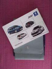 Peugeot 207 Model Paper Car Owner & Operator Manuals