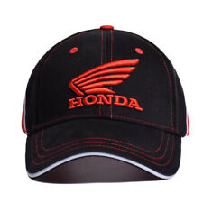 Honda Hat Car Wing Logo Baseball Black Red Cap Racing Team Men Women Curved Polo
