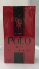 Ralph Lauren Polo Red Intense  6.7oz/200ml EDP SPRAY