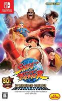 Street Fighter 30th Anniversary Collection International Switch JAPAN