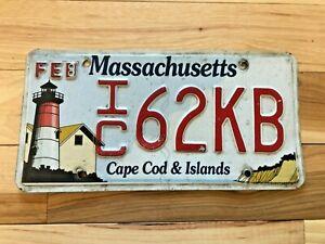 Massachusetts Cape Cod & Islands License Plate