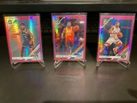2019-20 Optic Basketball Hyper Pink Prizm Lot (16 Cards) Nets Jazz Raptors Mavs