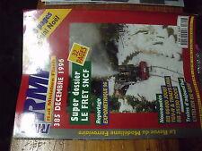 µ? revue RMF n°385 Dossier FRET SNCF Atelier de Gray BB 66400 TGV-R Thalys