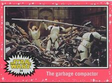 Star Wars JTTFA Neon Parallel Base Card #34 The garbage compactor