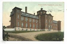 ST JOHN, NEW BRUNSWICK General Public Hospital Circa 1911