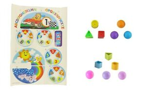 New ~ FISHER PRICE Laugh & Learn Car Replacement LABELS DECALS STICKERS or BALLS