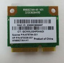 WiFi Wireless Card Laptop Atheros Ar5B125 Hp 670036-001 675794-001 Genuine Pci-E