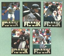 FRANK THOMAS 1993 Leaf Thomas White Sox HOF'er (Complete 10 Card Set)