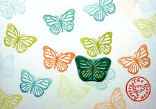 Rubber Stamp, Butterfly, Hand Made, Wildlife, Insects, Design, Wedding Stamp