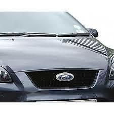 FORD FOCUS ST 05-07 ZUNSPORT FRONT UPPER SPORTS GRILLE Black ZFR16499B