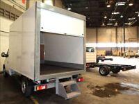 UK Roller Shutters - AluMotive - Luton Box Van - Manual Shutter
