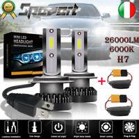 Pair Canbus + 2xH7 110W MINI LED Lampadine del Faro Kit Bulbi Luci 6000K Bianco