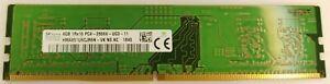 4GB HYNIX HMA851U6CJR6N-VK N0 AC 1Rx16 PC4-2666V-UC0-11 DDR4 desktop RAM Memory