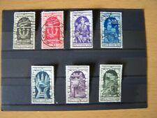 ITALY,1934,TENTH ANNIV ANNEXATION OF FIUME,7VALS COMPLETE SET,F/USED CAT £185.