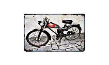 Bianchi Aquilotto 48 Motorbike A4 photo Retro Bike