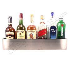 Bar Speed Rail - Stainless Steel: 32 Wide - 9 Bottles