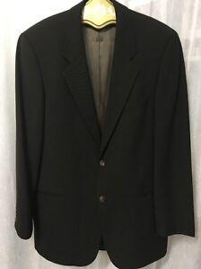 Hugo Boss Men's Blazer 100% Wool 2 Button 6 Pocket Suit Blazer Size 40T