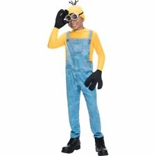 Boys Minion Kevin Costume Child Despicable Me Movie Fancy Dress Kids Jumpsuit