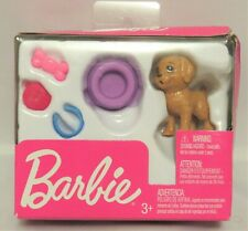 Barbie Pet Dog & Accessories, 2018, Nib