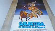GALACTICA    !  affiche cinema science fiction 1978 , no star wars