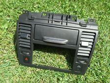 2007-2011 NISSAN VERSA CENTER DASH RADIO BEZEL TRIM W/VENT &SWITCH BLACK OEM