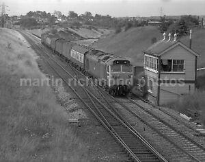 Clink Road Junction Signal Box Class 50 50021 1979 John Vaughan Negative RN109