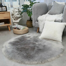 Round Carpet Fluffy Soft Rugs for Living Room Bedroom Plush Floor Mat Home Decor