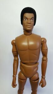 Vintage Action Man 'TOM STONE' Head on 'African American' Body. REPRO Figure.