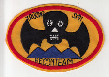 Wartime Truong Son Recon Team Patch / SF Insignia