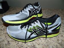 Men's Asics Gray Dynamic Duomax Running Tennis Shoes Size 12.5