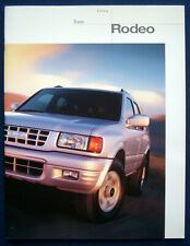 Prospekt brochure 1998 Isuzu Rodeo (USA)