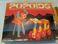 1983 Vintage Tomy POPOIDS COSMIC CRITTERS Space Figure Set w/ box
