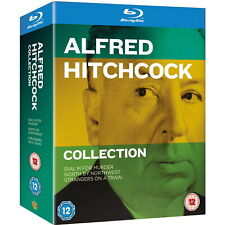 Alfred Hitchcock 3-Film Collection [Blu-ray Box Set Region Free Dial M 3D] NEW