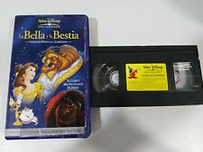 LA BELLA Y LA BESTIA VHS TAPE LOS CLASICOS WALT DISNEY EDICION ESPECIAL LIMITADA