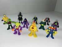 LOT Of 11 Imaginext Figures: Chicken Suit, Zombie, Witch, Space figures + More