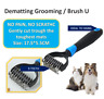 Professional Pet Dog Cat Comb Brush Grooming Undercoat Rake Comb Dematting Tools