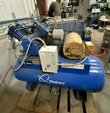Quincy QT-15 AIR MAX 15hp 120Gal 2 Stage Compressor 3 PH 175PSI 230V