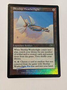 MTG Skyship Weatherlight FOIL NM / Mint UNPLAYED Planeshift Vintage Rare