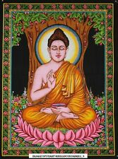 God Buddha Buddhist Tapestry Wall Hanging Throw Poster hippie Nature Peace 40*30