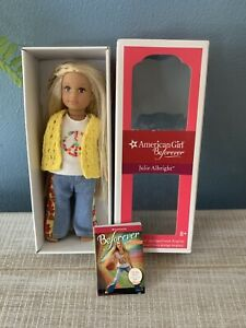 "American Girl Doll Julie Albright Doll 7"" Girl Of Year"